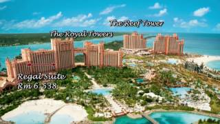 Family Vacation : The Atlantis Paradise Island, Nassau, Bahamas