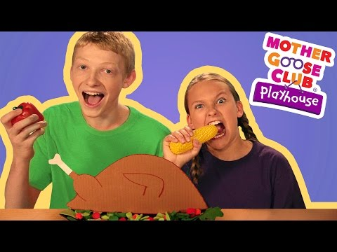 Thanksgiving Day | Mother Goose Club Playhouse Kids Video