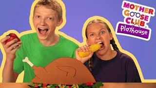 Thanksgiving Day   Mother Goose Club Playhouse Kids Video