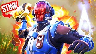 * NEW * UNLIMITED STINK BOMBS HAVE in FORTNITE GLITCH!