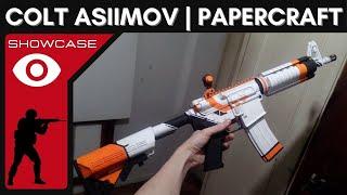 CS: GO - M4A4 Asiimov Papercraft