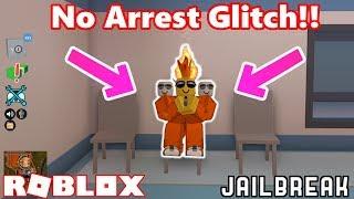 No Arrest Glitch!! | Roblox Jailbreak Myth busting #1
