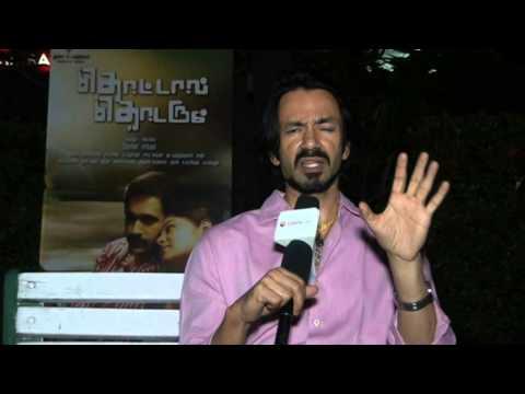 actor vincent asokan at thottal thodarum exclusive interview
