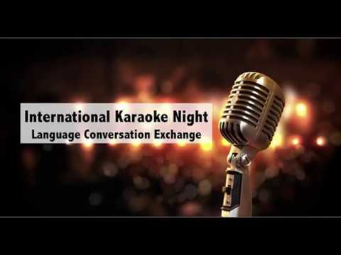 MIT Language Conversation Exchange International Karaoke Night