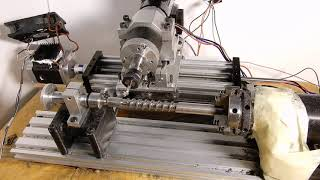 DIY compression extrusion screw maker finished cutting