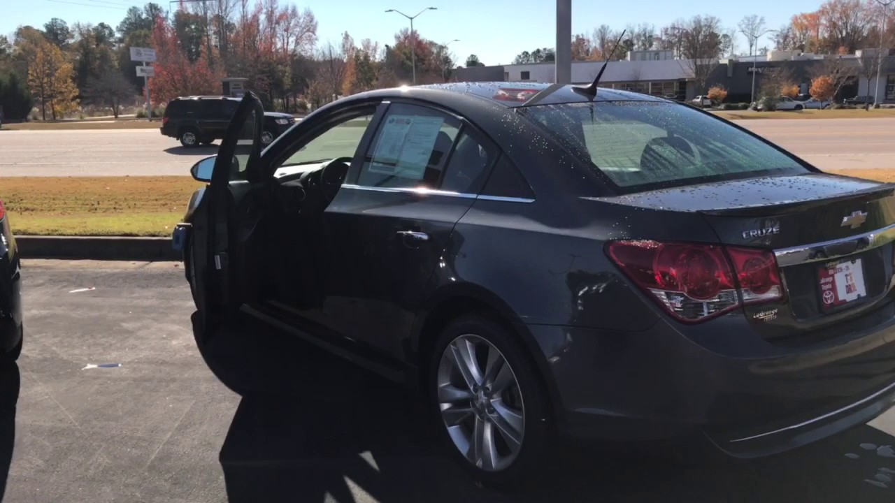 Cruze chevy cruze ltz review : 2013 Chevrolet Cruze LTZ Review - YouTube