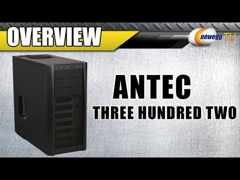 Newegg TV: Antec Three Hundred Two 302 ATX Mid Tower Computer Case Overview