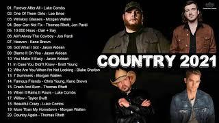 New Country 2021 ♪♪ Jason Aldean, Kane Brown, Blake Shelton, Dan + Shay, Luke Combs, Thomas Rhet screenshot 1
