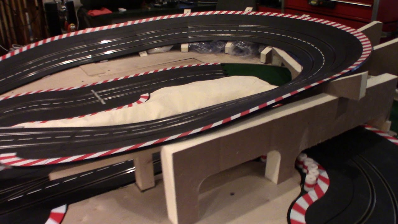 Slot Car Track Scenery - Terra-forming - Part 2 of many