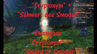Guild Wars 2 HoT Schatulle Cryptonym + Schwert des Smodur / Sword of Smodur Strongbox