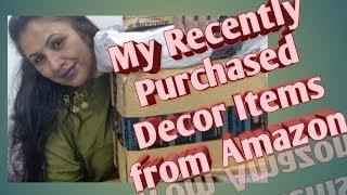 Home Decor items from Amazon | Amazon Haul #amazonhaul