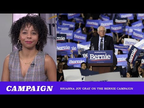 Bernie's Ground Game Is Awesome ft. Briahna Joy Gray (TMBS 102)