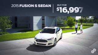 2015 Ford Fusion S Sedan Offer Bommarito Ford SP April 2015