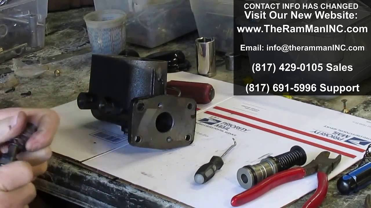 MASTER CYLINDER REPAIRS by TheRamManINC com