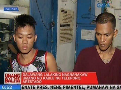 Download UB: 2 lalaking nagnakaw umano ng kable ng telepono, arestado sa Maynila