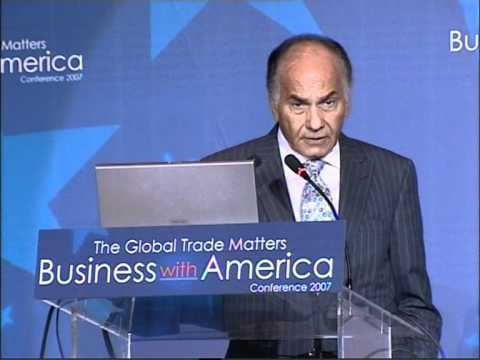 Global Trade Matters Business with America Conference Farid Khamis Keynote Address MPG