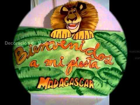 Decoracion De Madagascar Por Inversiones Eventsys Ca Youtube