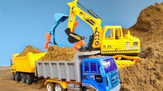 Excavator And Dump Truck | Toys Car | Construction Vehicles Toys for Children