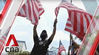 Hong Kong protests Sep 8: US consulate rally; clashes with police