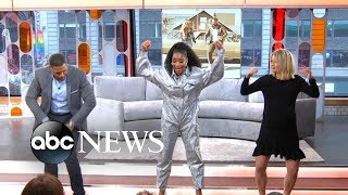 Keke, Sara And Michael Do The #GitUpChallenge