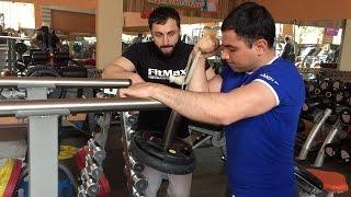 T-POWER: #армрестлинг  Тренировка верха с Вадимом Акперовым