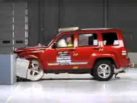 Jeep liberty crash