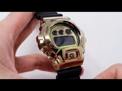 UNBOXING 2020 CASIO G-SHOCK 25TH ANNIVERSARY METAL GM6900G-9