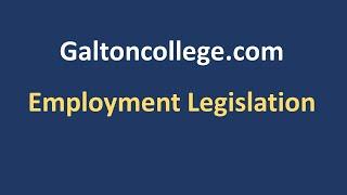 N0307A  Employment Legislation