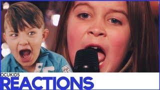 British Kids React to | Aaralyn
