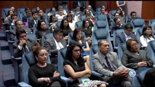 Conferencia Los DDHH entre el Derecho Constitucional y el Derecho Internacional 2017 Video