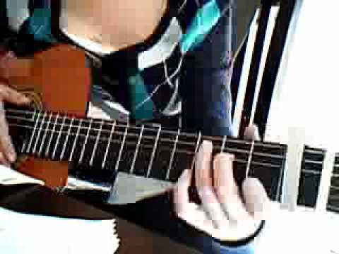 Wie spielt man RUN von Leona Lewis, how to play, tutorial, deutsch, german, gitarre, guitar