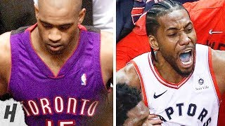 GAME 7 REDEMPTION! Vince Carter vs 76ers in 2001 Playoffs vs Kawhi Leonard in 2019 Playoffs