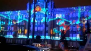 Световое шоу Екатеринбург 2017