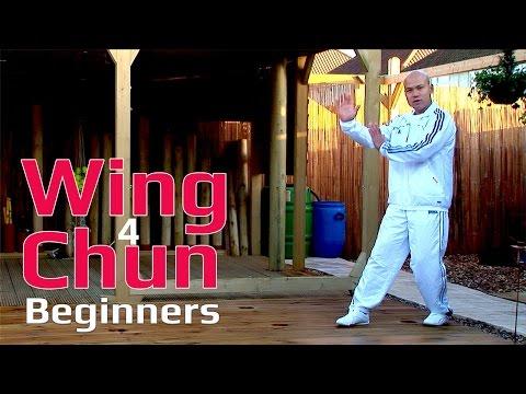 Wing Chun for beginner lesson 4: basic leg exercise /moving forward changing sides