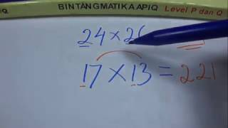 Rumus Cepat dan Cara Hitung Cepat Perkalian Matematika