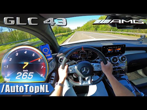 2020 Mercedes-AMG GLC 43 Coupe TOP SPEED On AUTOBAHN By AutoTopNL