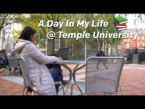 A Day in My Life at Temple University