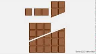 Infinite Chocolate Trick (explained simple)