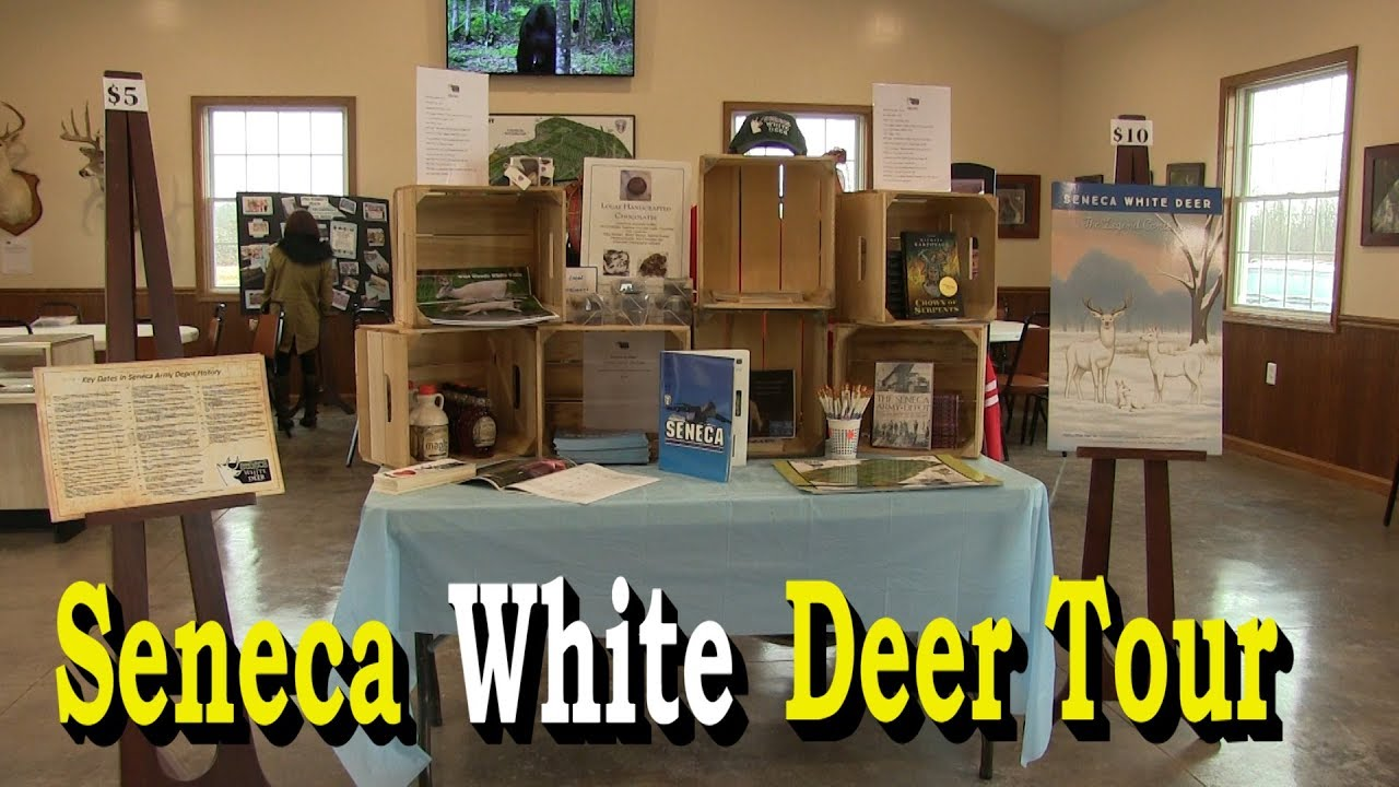 Seneca White Deer Tour with Dennis J. Money on 4/12/18