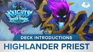 Hearthstone Deck Introductions: Shadowreaper Highlander Priest