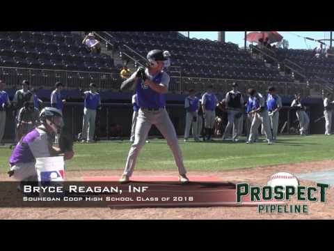 Bryce Reagan Prospect Video, Inf, Souhegan Coop High School Class of 2018