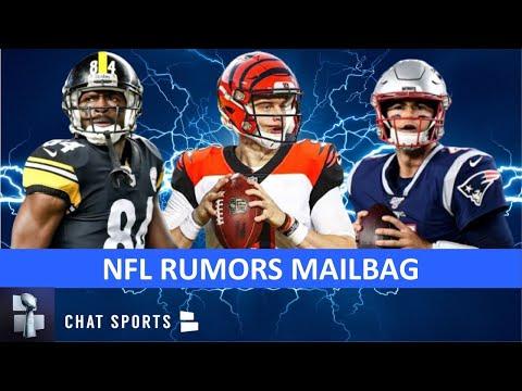 NFL Rumors: Antonio Brown To The Packers? Joe Burrow 2020 Stats? Jarrett Stidham The Pats Future?