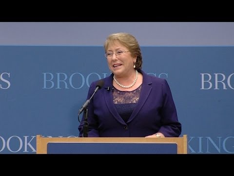 An Address by the President of Chile Michelle Bachelet
