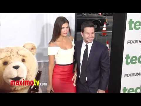Mark Wahlberg and Rhea Durham at TED Premiere ARRIVALS  Maximo TV Red Carpet Video