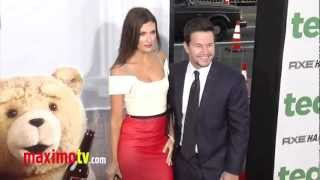 Mark Wahlberg and Rhea Durham at TED Premiere ARRIVALS - Maximo TV Red Carpet Video