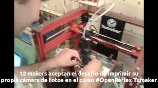 Taller OpenRéflex Tumaker