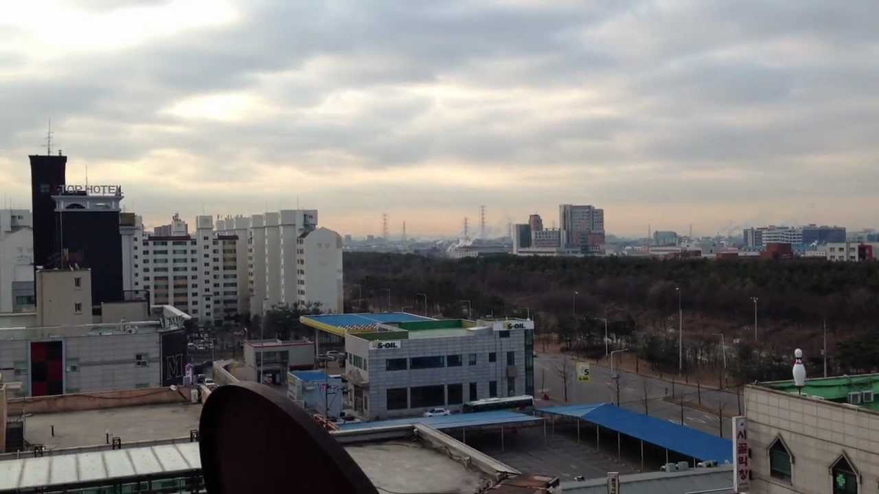 Siheung City View From Building Roof Top Korea Youtube