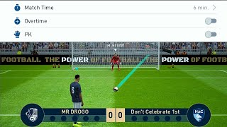 How to Set PENALTY /EXTRA TIME in ONLINE Match - PES 2019 Mobile Android /ios