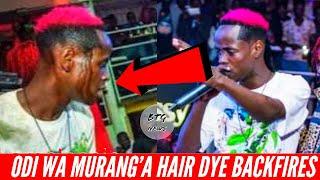 BACKFIRED ODI WA MURANGA HAIR DYE GOES V!RAL! |BTG News