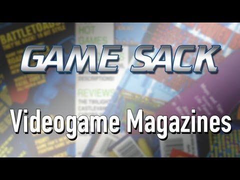 Game Sack - Videogame Magazines
